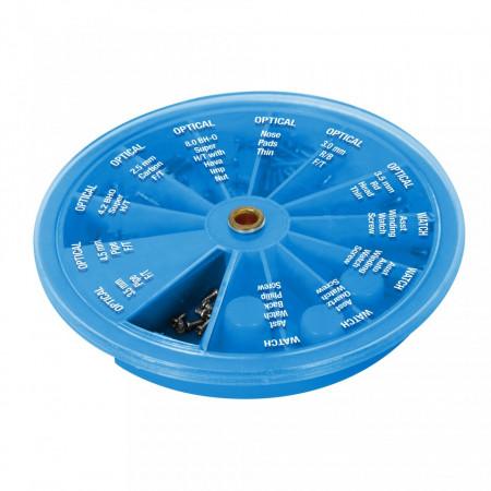 Șuruburi pentru ceasuri , ochelari si laptop-uri , 120 piese , Watch & Optical Screws Assorted 120pce