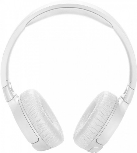 Casti audio On-ear JBL Tune 600, Active Noise Cancelling, Wireless, Bluetooth, Pure Bass Sound, Hands-free Call, 22H, Alb