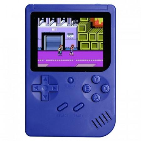 """Consola jocuri portabila, 400 de jocuri, albastru, lcd color 3"""", VKTools Plus"""