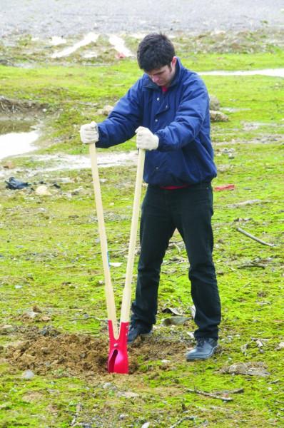 Dispozitiv de gaurit pentru plantat, 1560mm , SIlverline Post Hole Digger