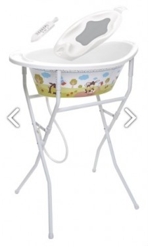 Scaun suplimentar cadita de baie bebelus Rotho Babydesign Style 20212