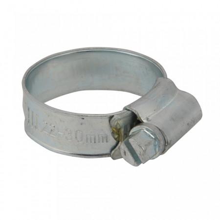 Set 10 coliere metalice profesionale, 22-30mm, Fixman