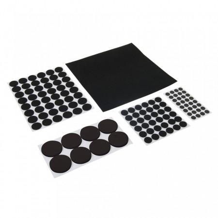 Set 125 protectii mobila, scaune, mese, 20mm, 15mm, 10mm, 38mm, 200mm, Fixman