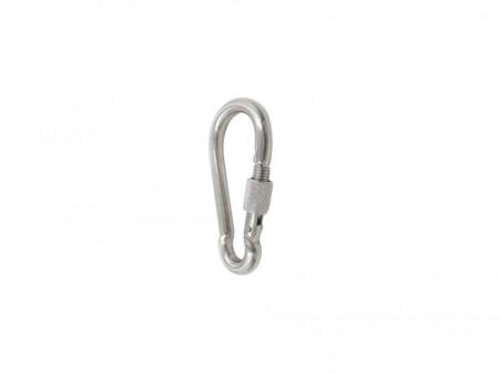Carabina zincata cu clapeta securizata, 185mm, Mega