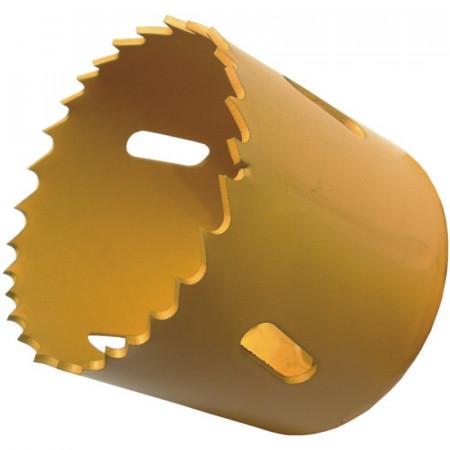 Carota Bimetal pentru gaurit metal, otel, aluminiu, plastic, lemn, gips, carton 48mm