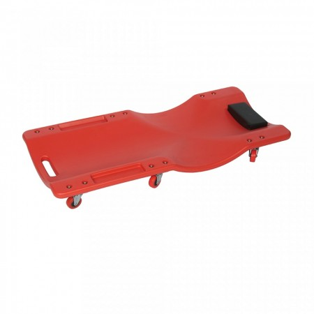 Carut mecanic ergonomic, 6 roti, material compozit, Silverline