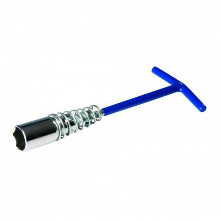 Cheie tubulara pentru bujii , 16mm , Silverline Spark Plug Wrench