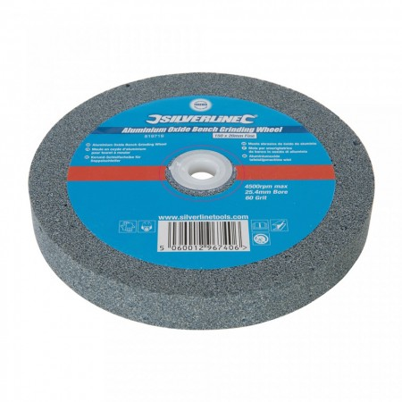 Disc piatra pentru slefuitor de banc, 150mmx20mm,36 grit, Silverline