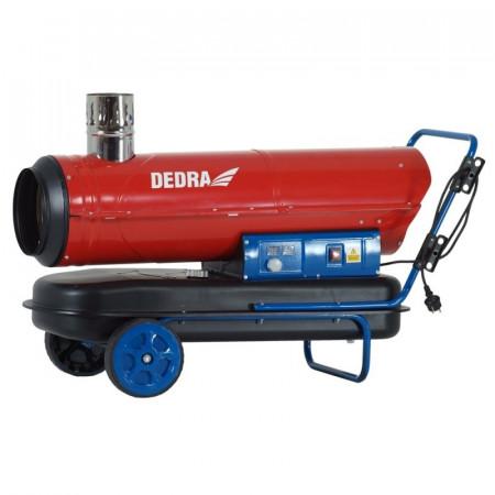 Incalzitor cu motorina / diesel ardere directa, cos evacuare gaze, 30 kW, Dedra