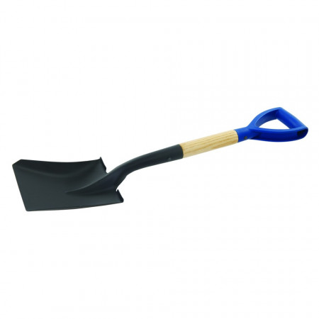 Lopata cu coada din lemn , 700mm , Silverline Wooden Square Head Micro Shovel