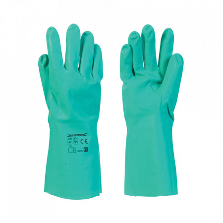Set 2 manusi lungi protectie virusi, bacterii, universale, certificat protectie micro-organisme, L, Silverline