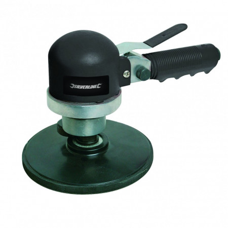 Poze Slefuitor orbital pneumatic , 150mm , 10.000 rpm , Silverline Air Sander & Polisher
