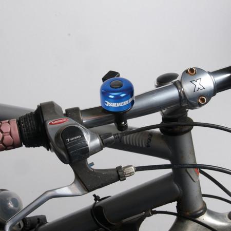 Sonerie mecanica bicicleta, 80x100mm, Silverline