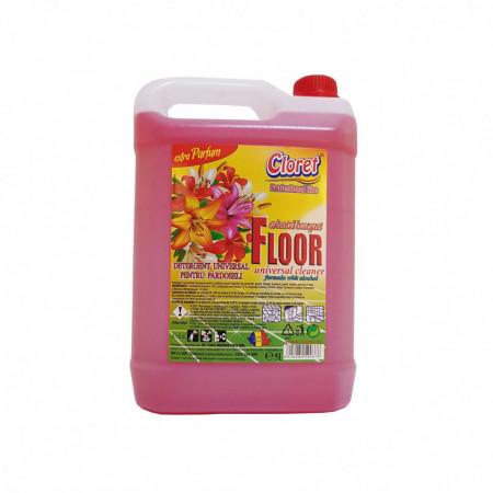 Detergent pardoseli, fara clatire, Oriental Bouquet, 5L, Cloret