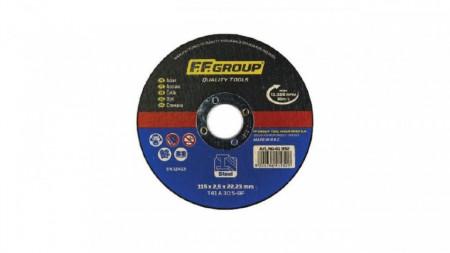 Disc debitat otel, 125x2.5mm, F.F. Group