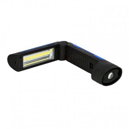 Lanterna LED Dedra L1009, 2W, 150 lm, Cob Led,plianta cu baterii