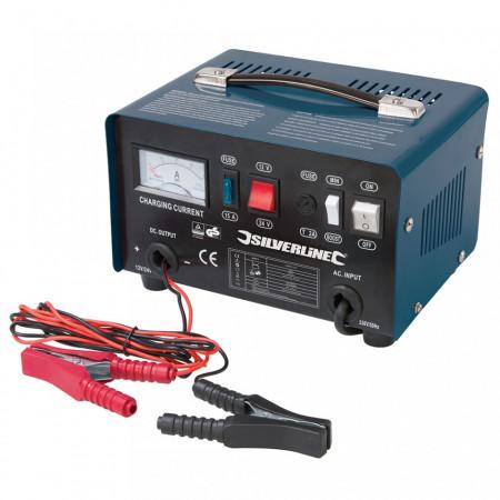 Redresor baterie auto / moto , 25 / 135 Ah, 12 / 24 V , Silverline