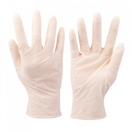 Set 100 manusi protectie virusi, bacterii, uz general, latex , marimea XL , transparente , Silverline