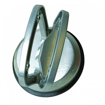 Ventuza din aluminium , 50 KG 115mm , Silverline Single Suction Pad Aluminium