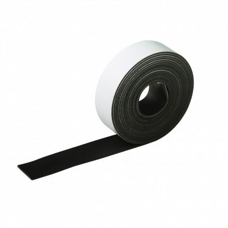 Bandă magnetică flexibilă si adezivă , 25mm x 3m , Silverline Flexible Magnetic Tape