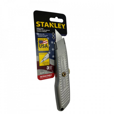 Cutter profesional, 155mm, 3 lame interlock, Stanley