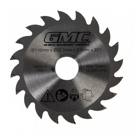 Disc circular electric, 110 x 22.2mm x 20T, GMC