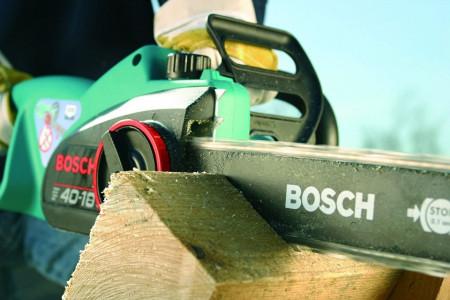 Fierastrau cu lant electric , drujba Bosch AKE 40 S , 1800 W, lama 40 cm