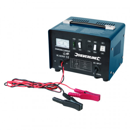 Poze Redresor baterii 12 / 24V , incarcare normala si boost , Silverline Battery Charger 12/24V