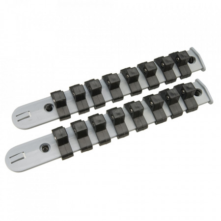 Set 2 sine stocare 16 tubulare, 3/8, Silverline