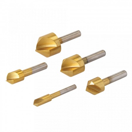 Set 5 burghie surub inecat, 6, 10, 13, 16, 19mm, Silverline