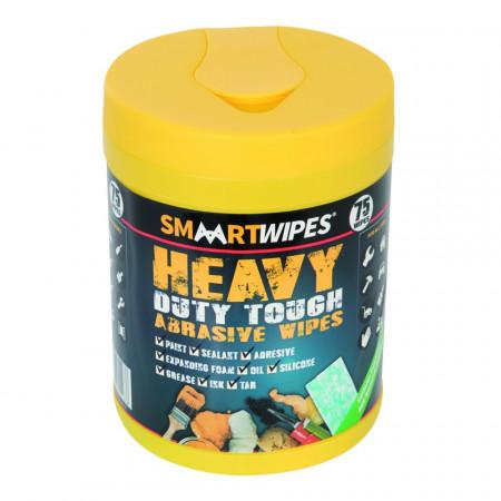 Set 75 servetele antibacteriene pentru curatat suprafete , rugina, suprafete dure, ulei, maini , Smart Wipes