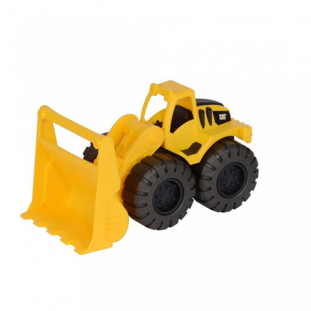 Poze Set buldozer, Cat Tough Truks, casca, lopata, grebla