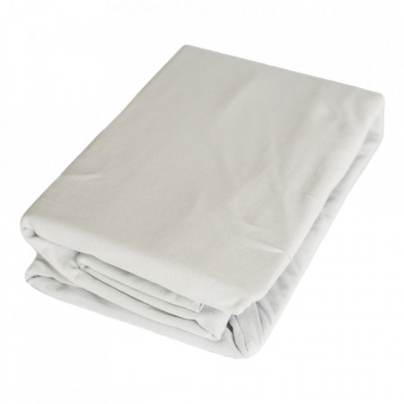 Set cearceaf cu elastic, husa perna, premium, 100% bumbac, 190 x 90 x 30cm, single, George Home