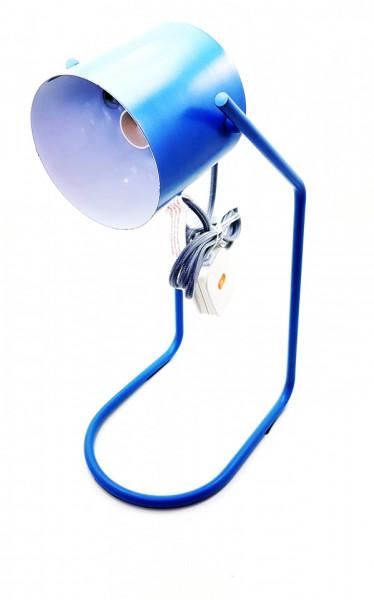 Veioza birou , metal , albastru, dulie E14, putere maxima 1 x 30 W