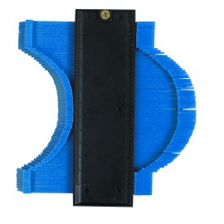 Dispozitiv copiat profile si muchii , 125mm , Silverline Profile Gauge