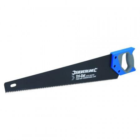 Fierastrau manual Tri Cut Saw , 500mm , 7tpi , Silverline Tri-Cut Saw