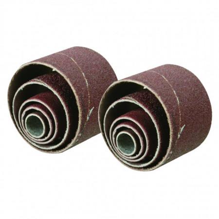 Rezerve tamburi slefuit 10 piese Silverline Sanding Sleeves 10pce