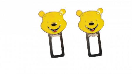 Set 2 anulatoare centura, sunet centura, Winnie the pooh, Disney