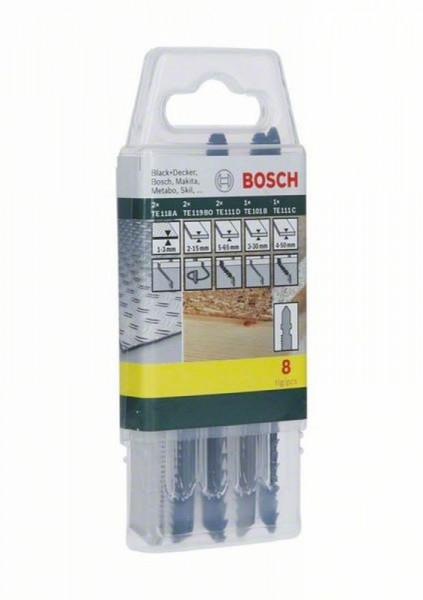 Set 8 panze fierastrau pendular,lemn, metal, Bosch