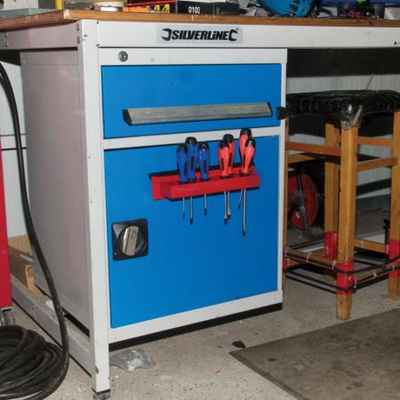 Suport magnetic surubelnite, 280mm, Silverline