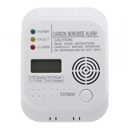 Detector de monoxid de carbon , 85dB, afisaj lcd, termometru, VKTools