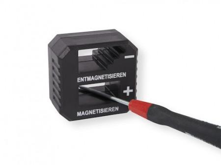 Dispozitiv magnetizare , demagnetizare unelte , scule , surubelnite , Powerfix