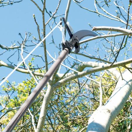 Fierastrau manual cu prelungitor si foarfeca,1.2m, Silverline
