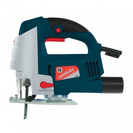 Fierastrau pendular Silverline 710W cu ghidaj laser , Silverstorm 710W Laser Jigsaw