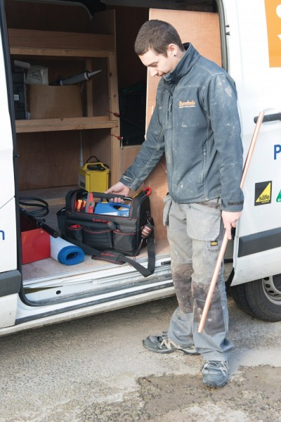 Geanta de scule profesionala, poliester armat, 430mm, Dickie Dyer