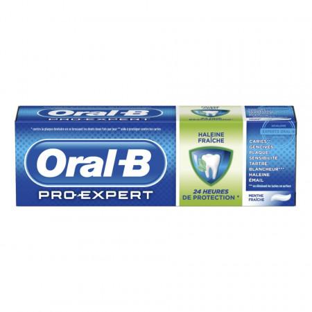 Pachet promo pasta de dinti Oral B, PRO-Expert, 3 x 75ml, respiratie proaspata, anti-placa