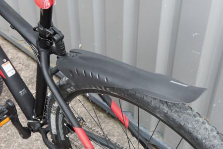 Set 2 apararatori roti bicicleta, universale, 315x75mm, 520 x 85mm, Silverline