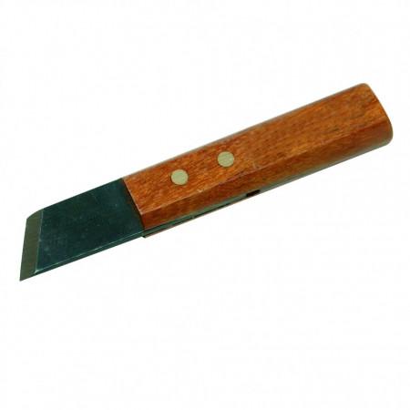 Cuțit de marcare cu mâner din lemn de trandafir 80mm Silverline Mini Marking Knife