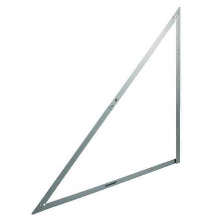 Echer pliabil din aluminiu 1200mm , Silverline Folding Frame Square