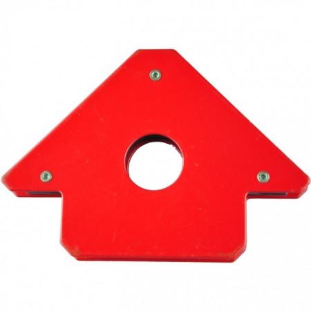 Magnet triunghiular pentru sudura Dedra 90mm x 15mm 45 ° 90 ° 135 °